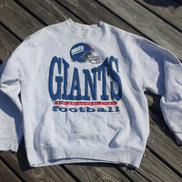 Vintage New York Giants Crewneck Sweatshirt NFL Football 1994 1990s NYG Mens L / XL