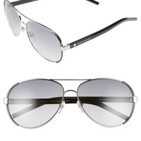 MARC JACOBS 60mm Oversize Aviator Sunglasses | Nordstrom