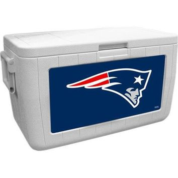 New England Patriots NFL 48 Quart Cooler