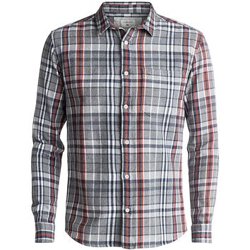 Quiksilver Trogon Way Flannel Long Sleeve Shirt