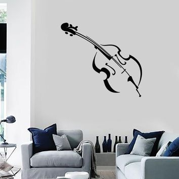 Wall Stickers Vinyl Decal Violin Musical Instrument Music Unique Gift z1060