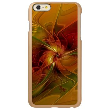 Warmth, Abstract Fractal Art Initials Incipio Feather® Shine iPhone 6 Plus Case