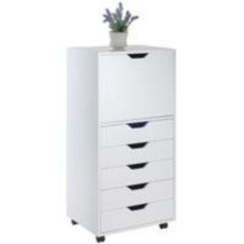 Winsome Wood 10616 Halifax Cabinet White  Finish