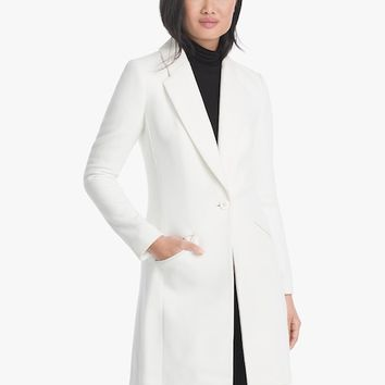 White House Black Market Single-Button Coat