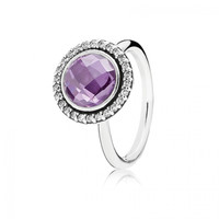 PANDORA Brilliant Legacy Ring Purple, 190904ACZ - Pandora Mall of America, MN