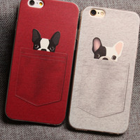 MIni Dog iPhone 7 7 Plus & iPhone 6 6s Plus & iPhone 5s se Case Personal Tailor Cover + Gift Box-474