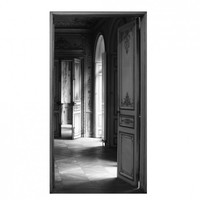 Open Typical Trompe L'oeil Door Print