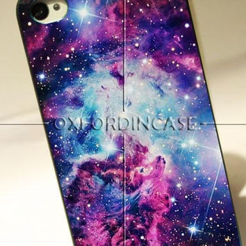 Galaxy Nebula Stars - for iPhone 4/4S case iPhone 5 case Samsung Galaxy S2/S3/S4 case hard case