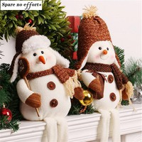 Enfeite De Natal Christmas Snowman Doll Toy Desktop Ornaments Best Christmas Gifts for Girls Christmas Decorations for Home