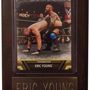 "Eric Young 4"" x 6"" WWE Wrestling Plaque"