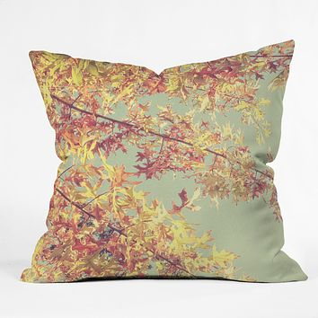 Shannon Clark Autumn Throw Pillow
