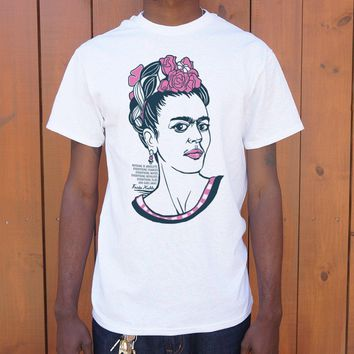 Frida Kahlo Quote T-Shirt (Mens)