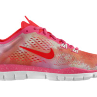 Nike Free TR Fit 4 iD Custom Women's Training Shoes - Pink