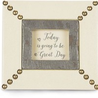 Today is going to be a great day Picture Photo Frame