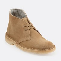Womens Desert Boot Core Oakwood Suede - Womens Medium Width Shoes - Clarks