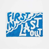 First In Last Out Bath Mat - Urban Outfitters