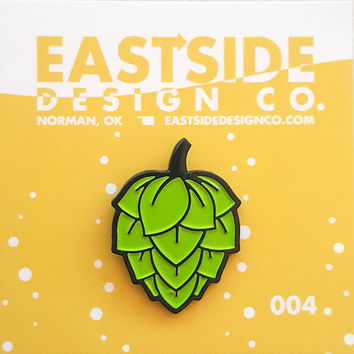 Hop  Enamel Pin - Eastside Design Co.