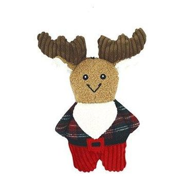 Plush Corduroy Cookie Dog Toy, Moose