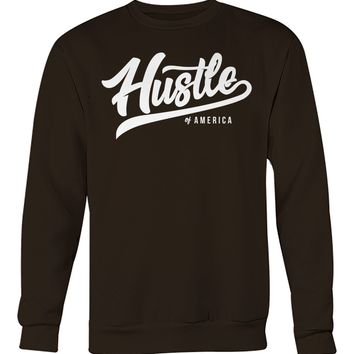 Hustle Of America Unisex Crew Neck
