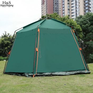 8-Person Automatic Family Camping Cabin Tent
