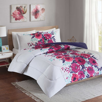 Intelligent Design Elodie Reversible Comforter Set