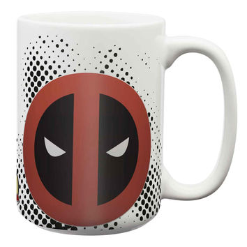 Marvel Comics Deadpool Large 15 oz. Ceramic Coffee Mug