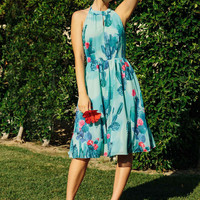 The Blogger the Better A-Line Dress in L