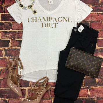Champagne Diet Top