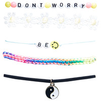 Be Happy Friendship Bracelet Set | Wet Seal