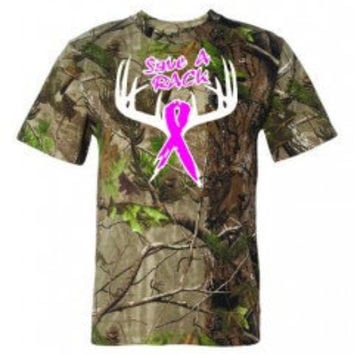 Save A Rack Camo T-Shirts