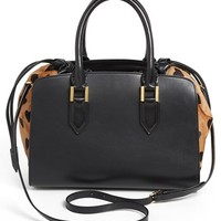 Burberry Prorsum 'Dinton - Small' Leather & Calf Hair Satchel | Nordstrom