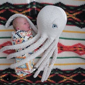 Comical Room Decor Octopus Plush Toy