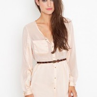 Blushing Shirtdress | NASTY GAL | Jeffrey Campbell shoes, Cheap Monday, MinkPink, BB Dakota, UNIF + more!