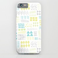 Abstract Watercolor Shapes iPhone & iPod Case by heartlocked