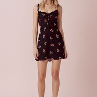 Cherry Twist Tank Mini Dress – For Love & Lemons