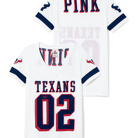 Houston Texans Sporty Athletic V-neck Jersey - PINK - Victoria's Secret