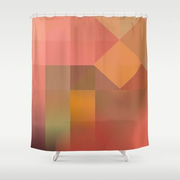 Inner Light Shower Curtain by mirimo