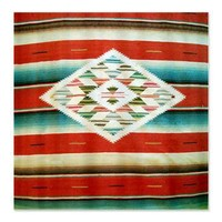 Vintage Mexican Serape Shower Curtain> Coastal, Vintage and Urban Chic Shower Curtains> Rebecca Korpita Coastal Design