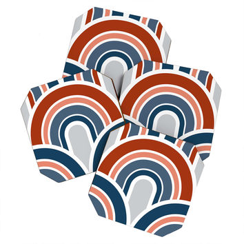 Caroline Okun Independence Coaster Set