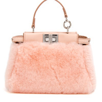 Fendi Light Pink Micro Peekaboo
