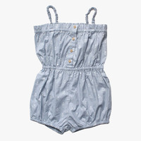 Vierra Rose Lily Romper in Anchor Print - FINAL SALE