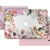 Floral Case Macbook Pro Case Macbook Air Macbook  Case Macbook Pro Laptop Cover Laptop Case Macbook Cover Macbook Case Macbook Air Case