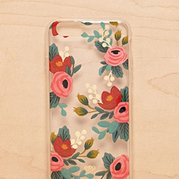 Rifle Paper Co. Clear Rose Phone Case