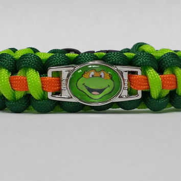 Teenage Mutant Ninja Turtles Bracelet, TMNT Bracelet, Choose Any Turtle, Ninja Turtles, TMNT Jewelry Custom Bracelet, TMNT Movie