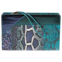 Stella Mccartney Reptile Print Clutch  - Gallery Andorra - Farfetch.com
