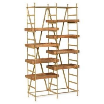 Ren-Wil Swansea Bookcase in Natural