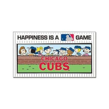 CHICAGO CUBS PEANUTS GANG HAPPINESS IS A GAME COLLECTOR PIN BRAND NEW WINCRAFT