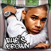 Chris Brown Styles - Pillow Cover Pillow Case and Decorated Pillow.