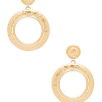 House of Harlow 1960 The Titaness Statement Earrings in Gold | REVOLVE