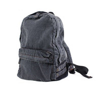 New Vintage Denim Satchel Backpack Rucksack Shoulder leisure Travel School Bag